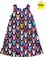 MVTRTK SPACE KITTY Kids Dress