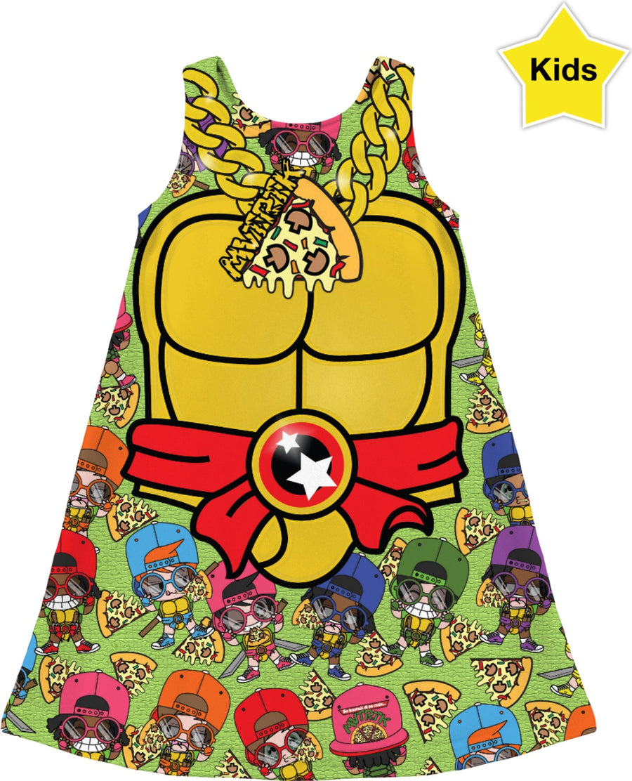 MVTRTK PIZZA Kids Dress