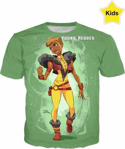 Young Heroes: Unlimited (Limited Edition Kids Shirts)- Vixen