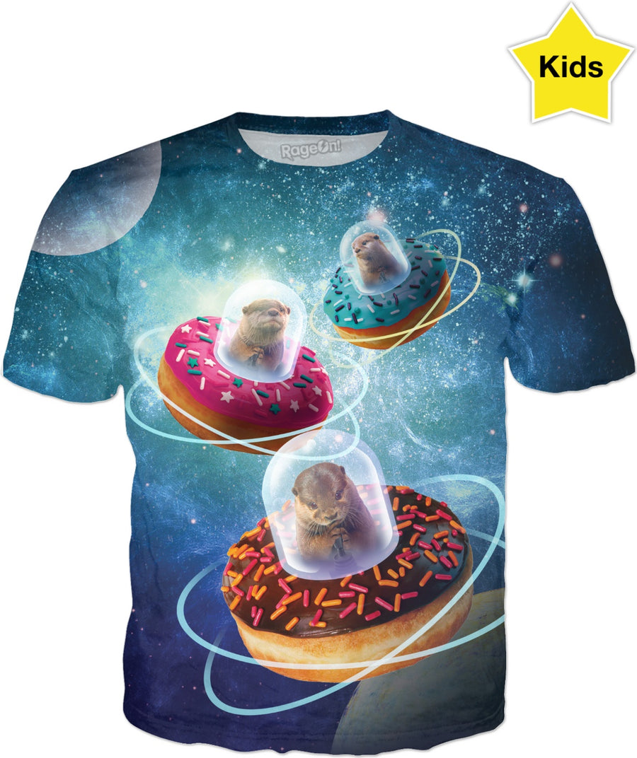 They Came from Otter Space Kids T-Shirt
