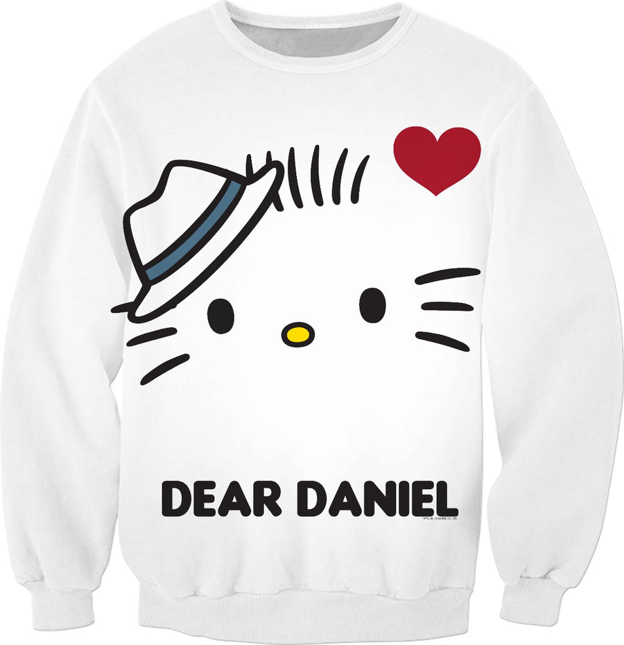 Dear Daniel and Hello Kitty Couples Sweatshirt