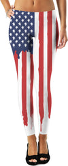 Dripping USA! Leggings