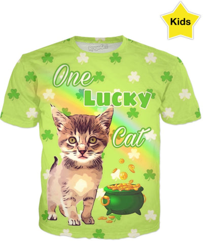 St. Patrick's Day One Lucky Cat