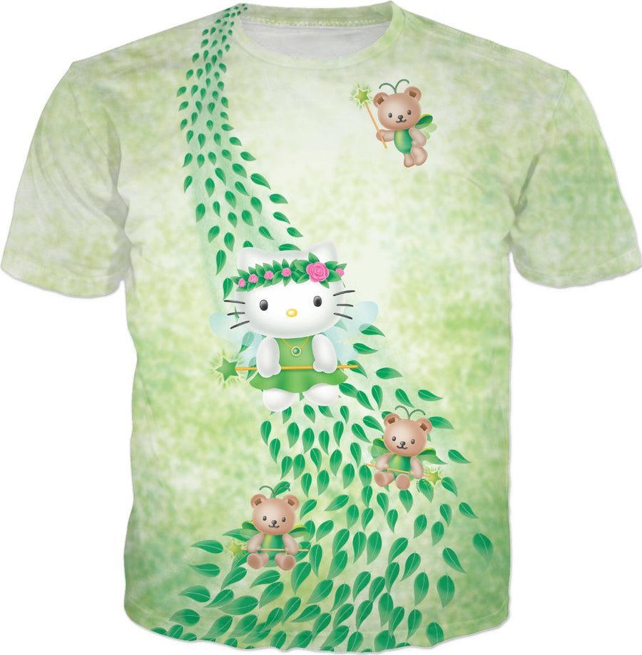 Hello Kitty Green Fairy T-Shirt