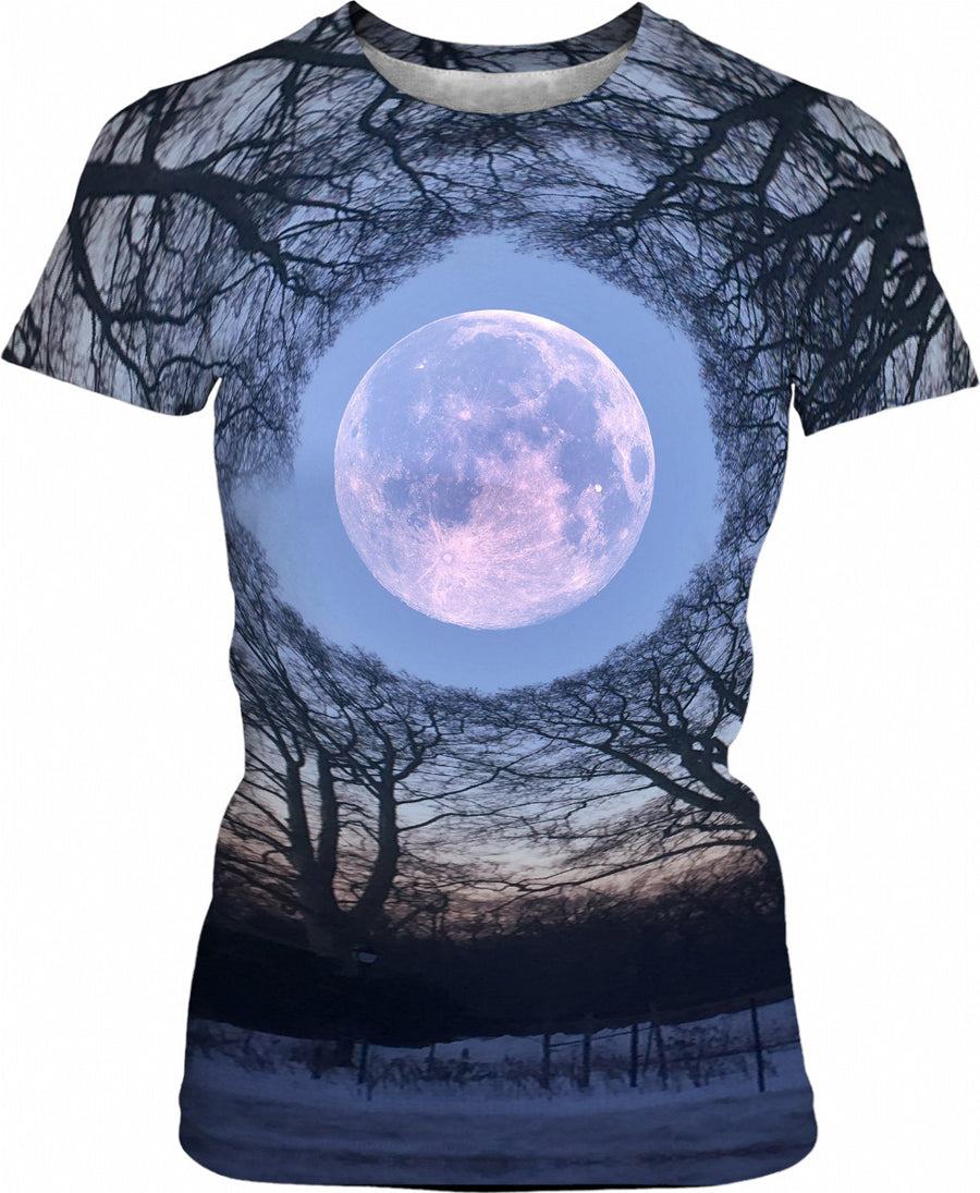 Blue Moon - Womens T-Shirt