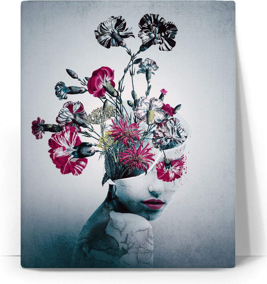 The spirit of flowers Canvas