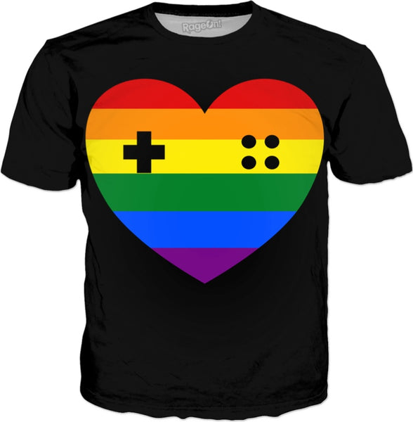 Rainbow Heart Gamer