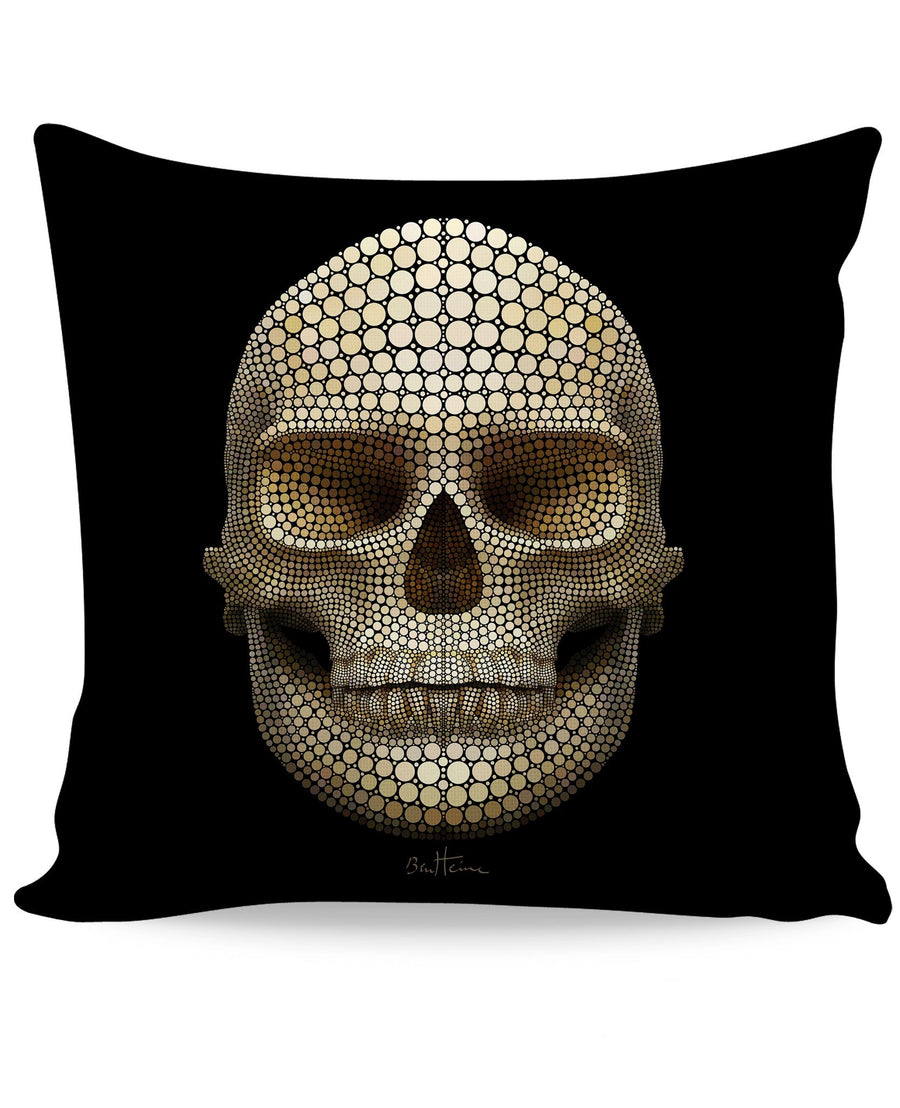 Skull Dots Couch Pillow