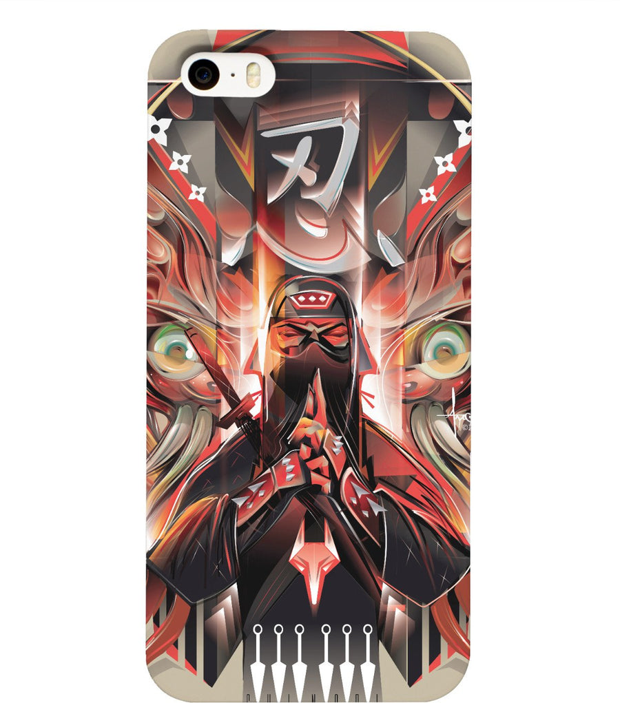 SHINOBI NINJA Phone case by Mexifunk