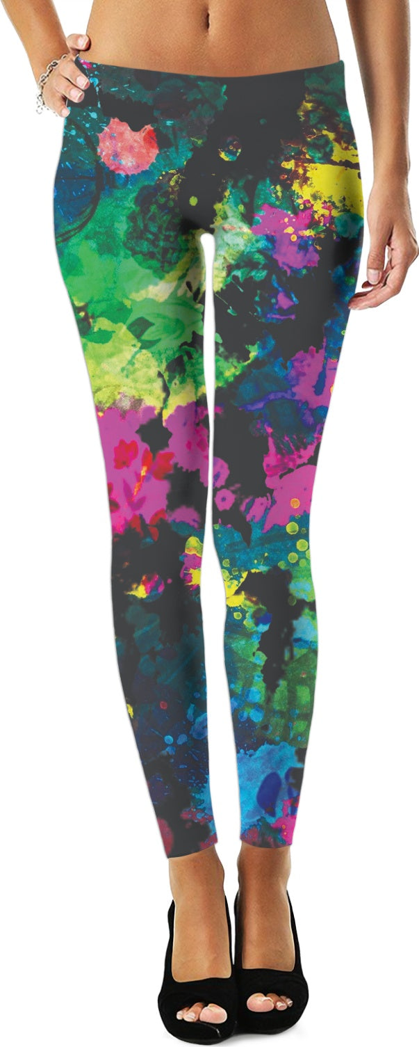 Rave Splatter Leggings