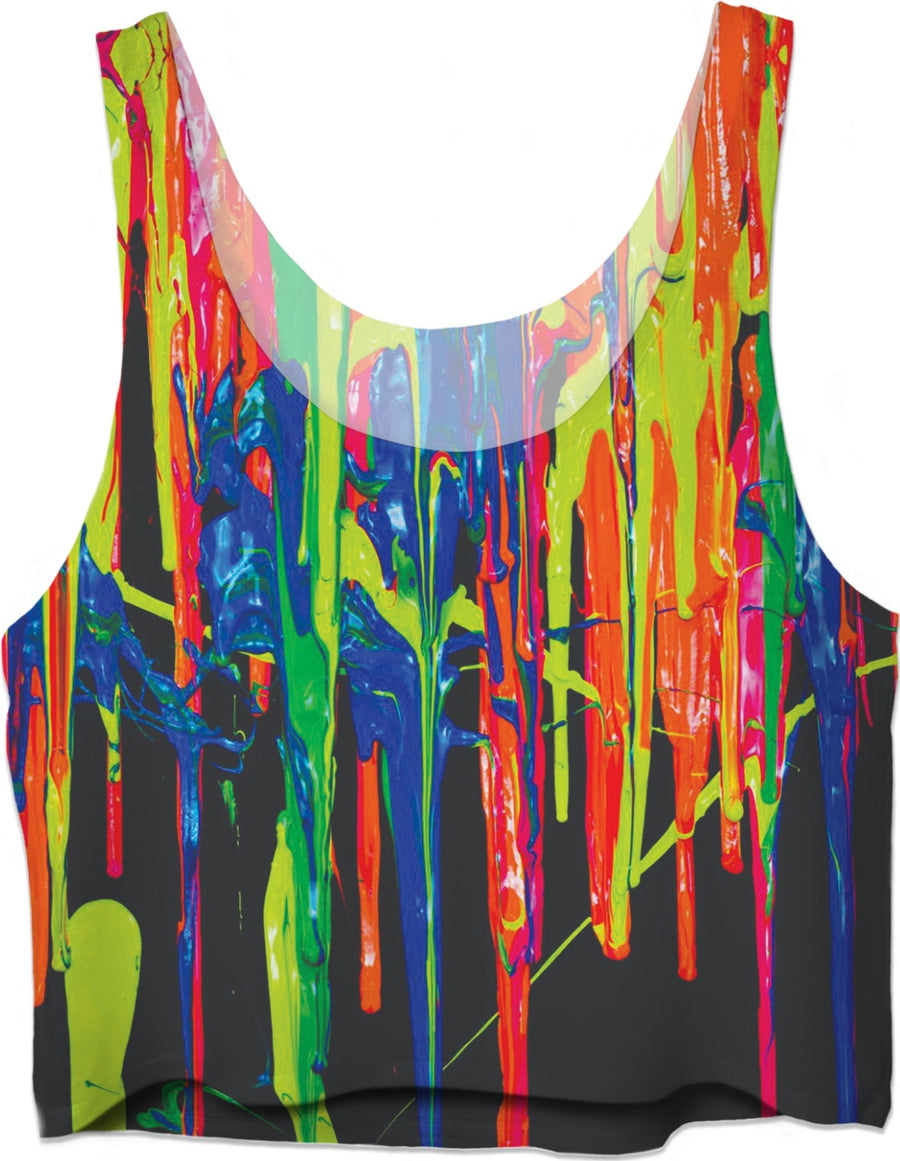 Rave Drips Crop Top