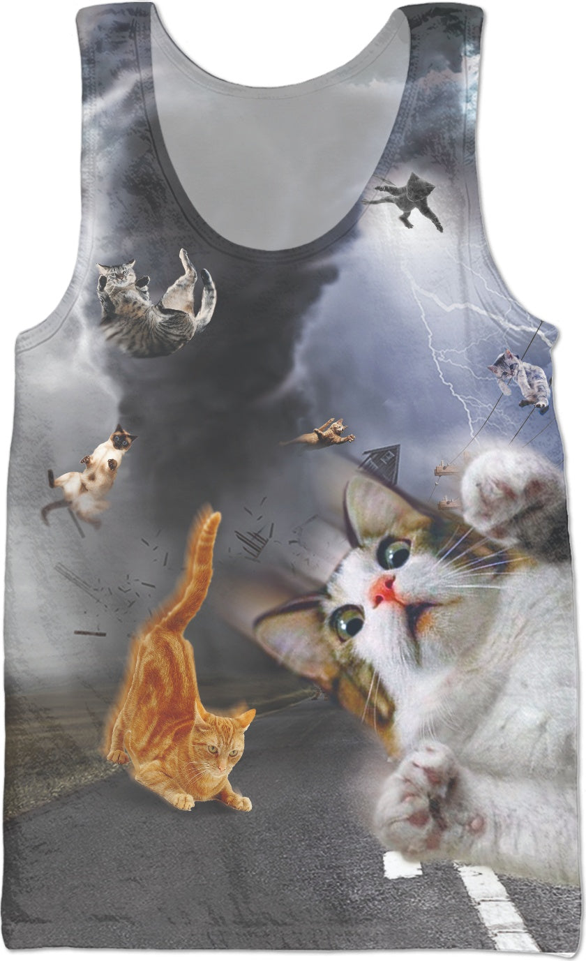 Catnado Tank Top