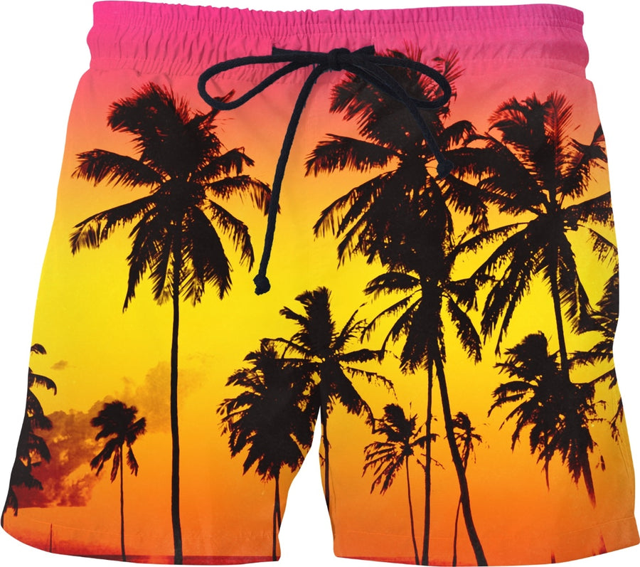 Sunset Beach Swim Shorts
