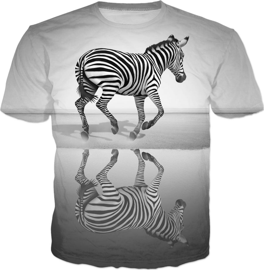 Zebra, T-shirts, tank tops, hoodies  and Clothes - Photo by Ben Heine.