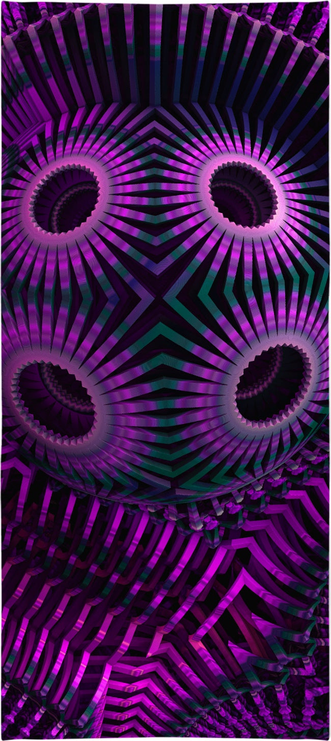 Psychedelic Ballz Custom Beach Towel