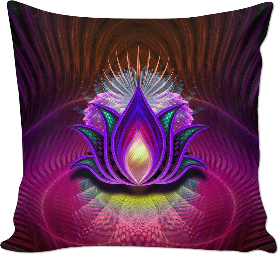 Lotus Royale Custom Couch Pillow