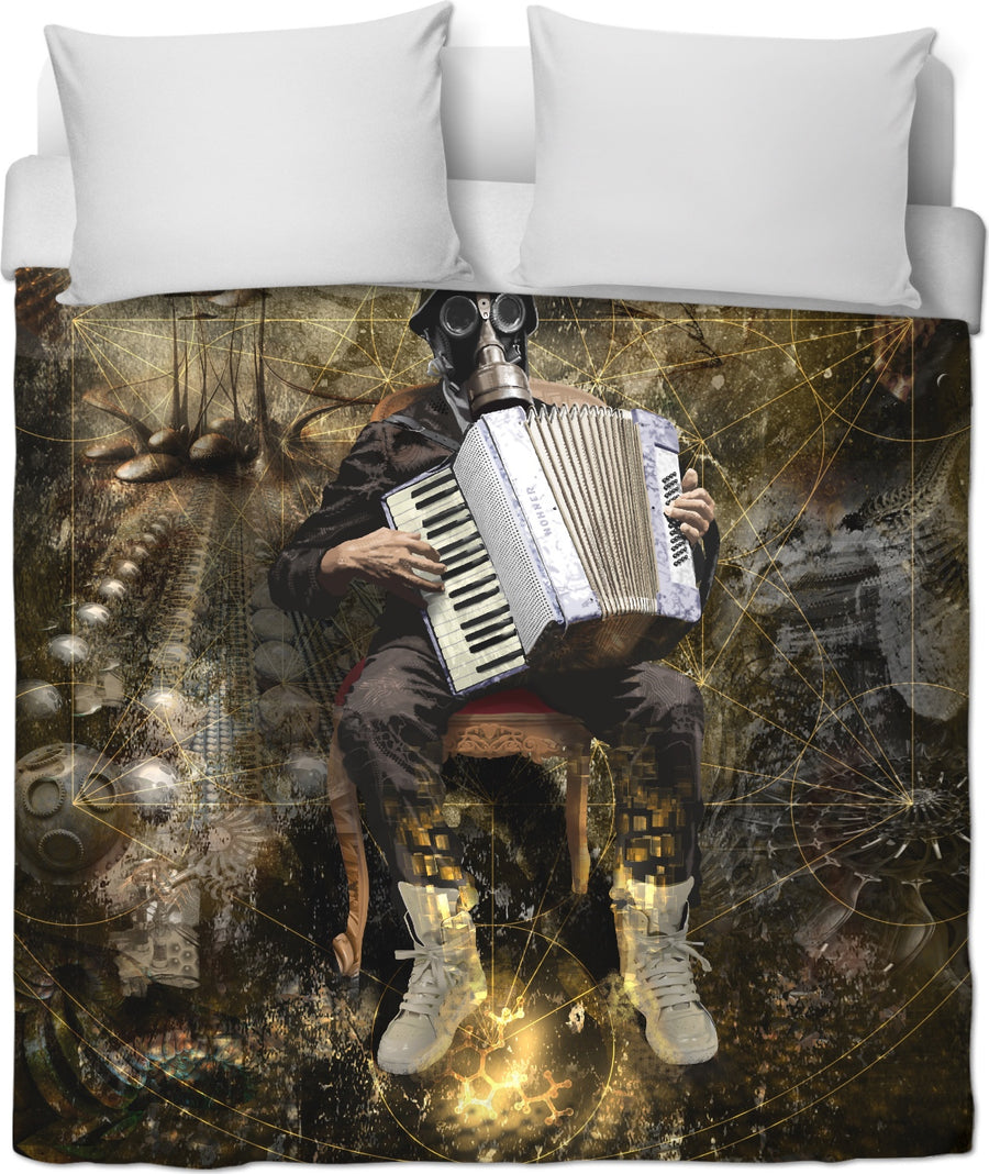 Serenade To The Universe Custom Duvet Cover