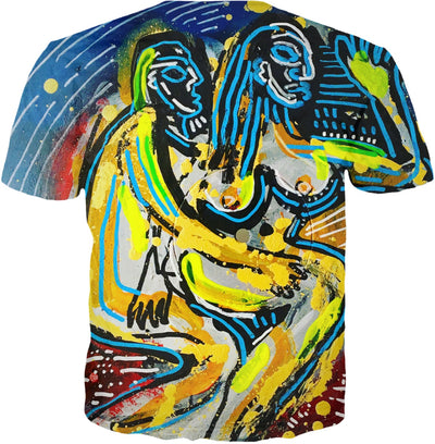 Original Painting Together By Antovitko On T-shirt