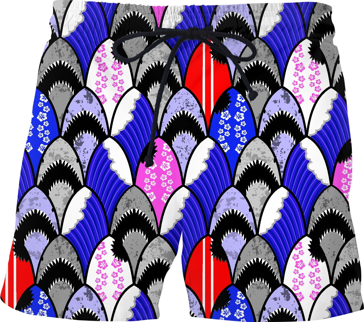 jawsome shark scallop pattern (all products) #SharkWeekContest