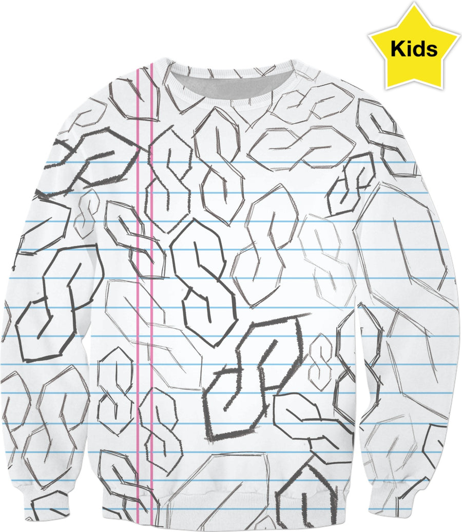 "The Old Skool ""S"" Kids Sweatshirt"