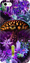 Enchanted Third Eye Mushroom Custom iPhone Case