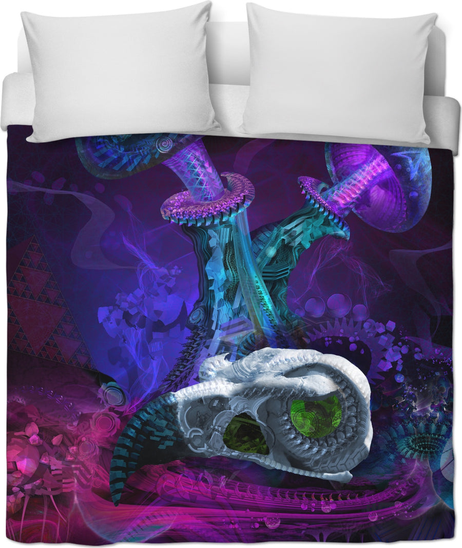 Between Dimensions Custom Duvet Cover