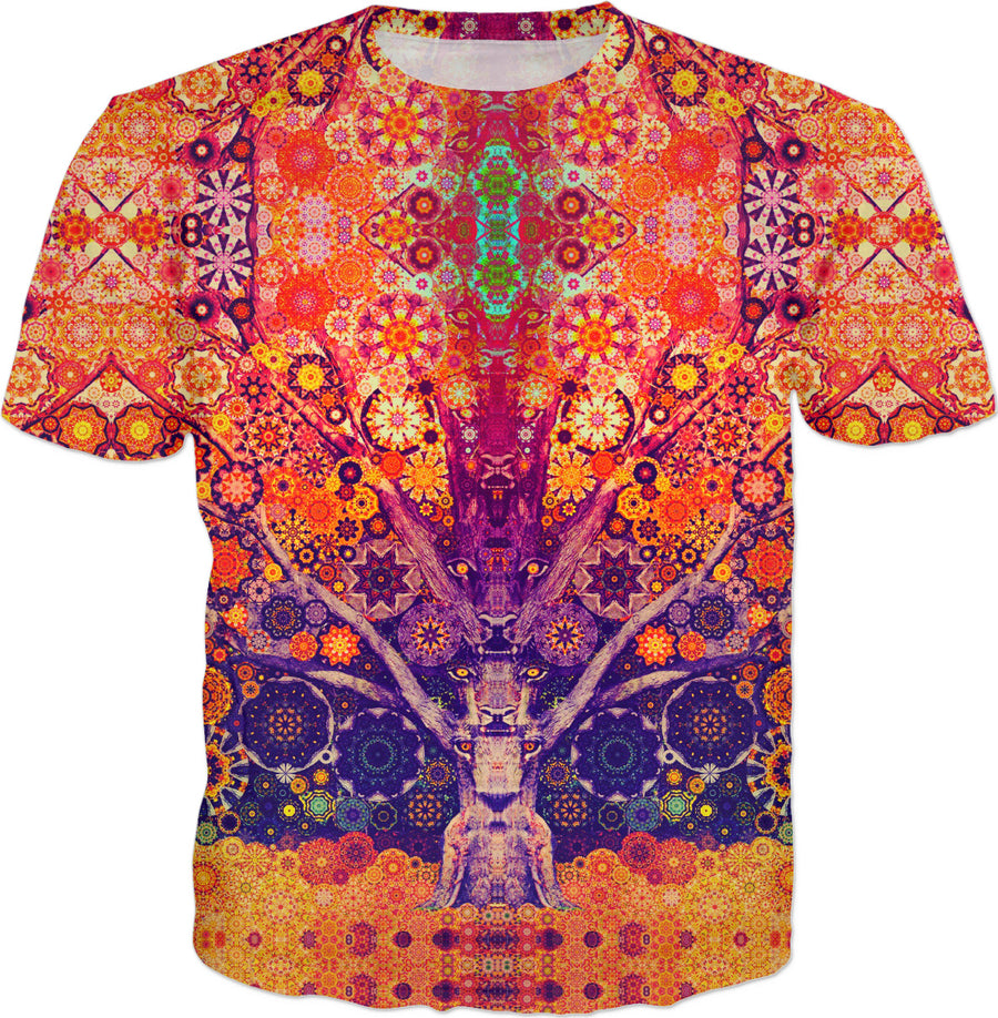 Animal Spirit Tree Delux - T-Shirt