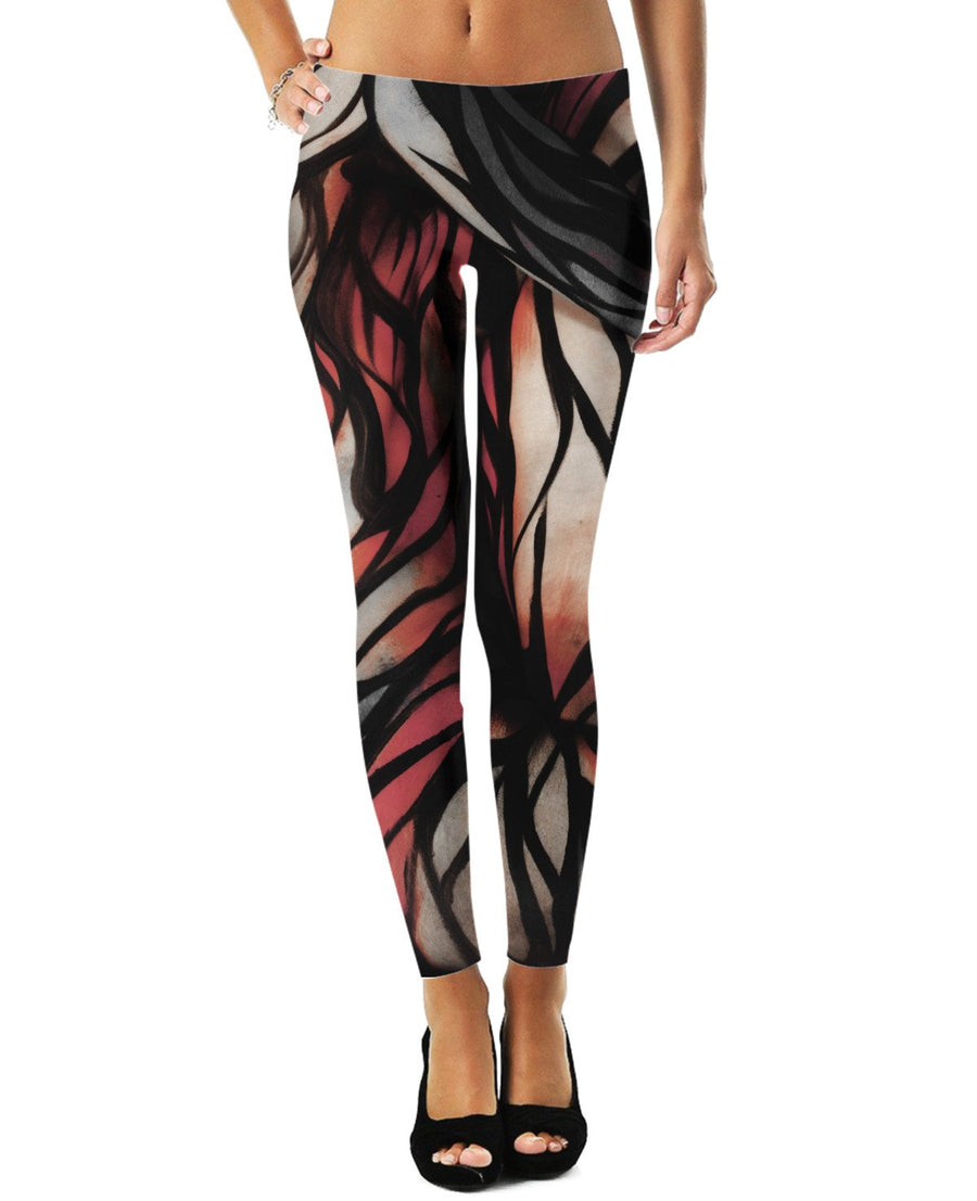 Abstract Bodyart Leggings