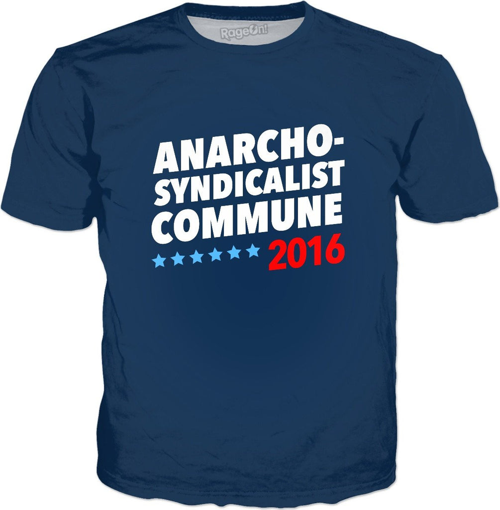 Anarcho-Syndicalist Commune 2016 T-Shirt