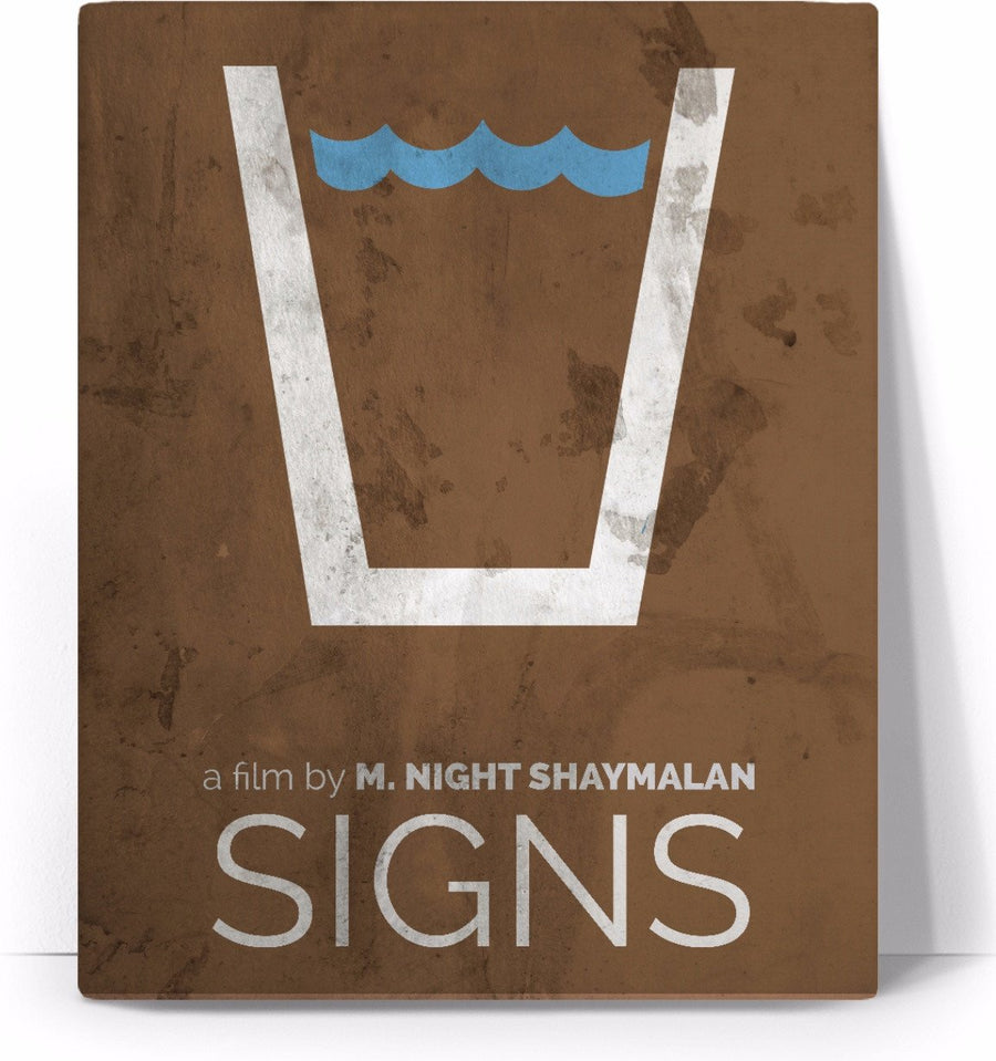 Signs Movie Poster Canvas