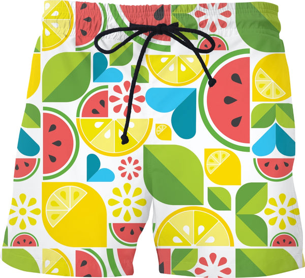 Summer Fruit Swim Shorts, Tank Top, or T-Shirt