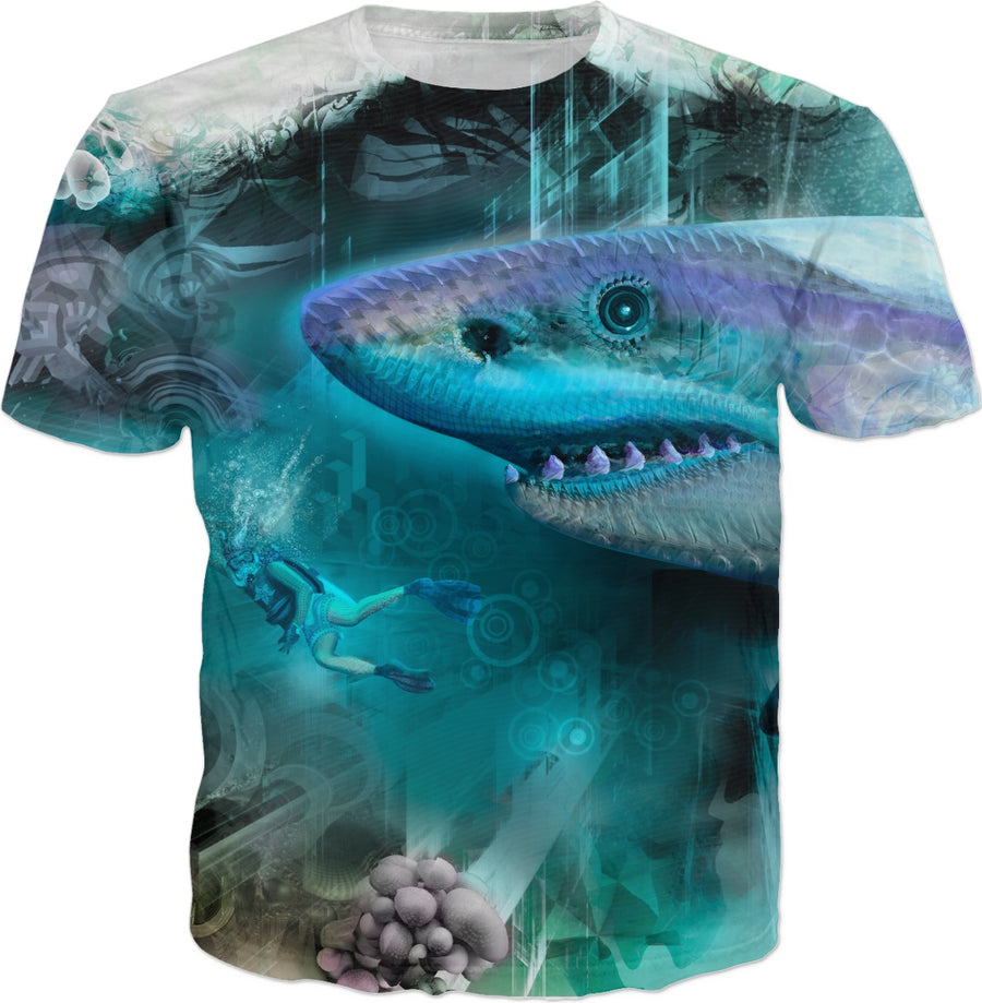 #SharkWeekContest Megalodon Custom T-Shirt