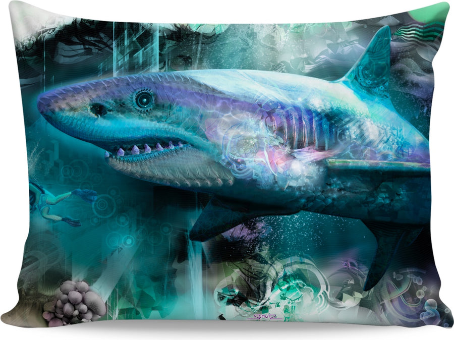 #SharkWeekContest Megalodon Custom Pillowcase