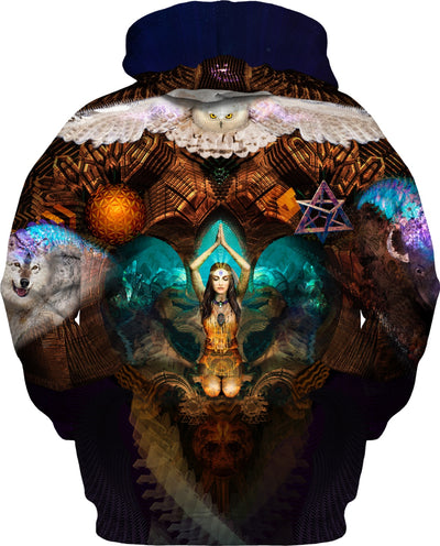 Calling The Spirit Animals Custom Hoodie