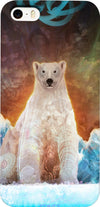 Stranded Polar Bear Custom iPhone Case