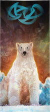 Stranded Polar Bear Custom Beach Towel