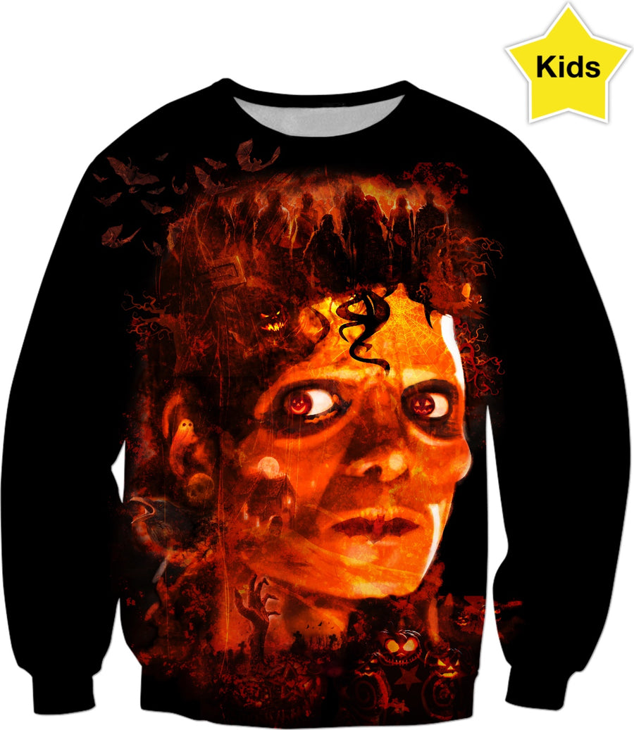 Jacko Lantern Custom  Halloween Kids Sweatshirt #ROHalloweenContest