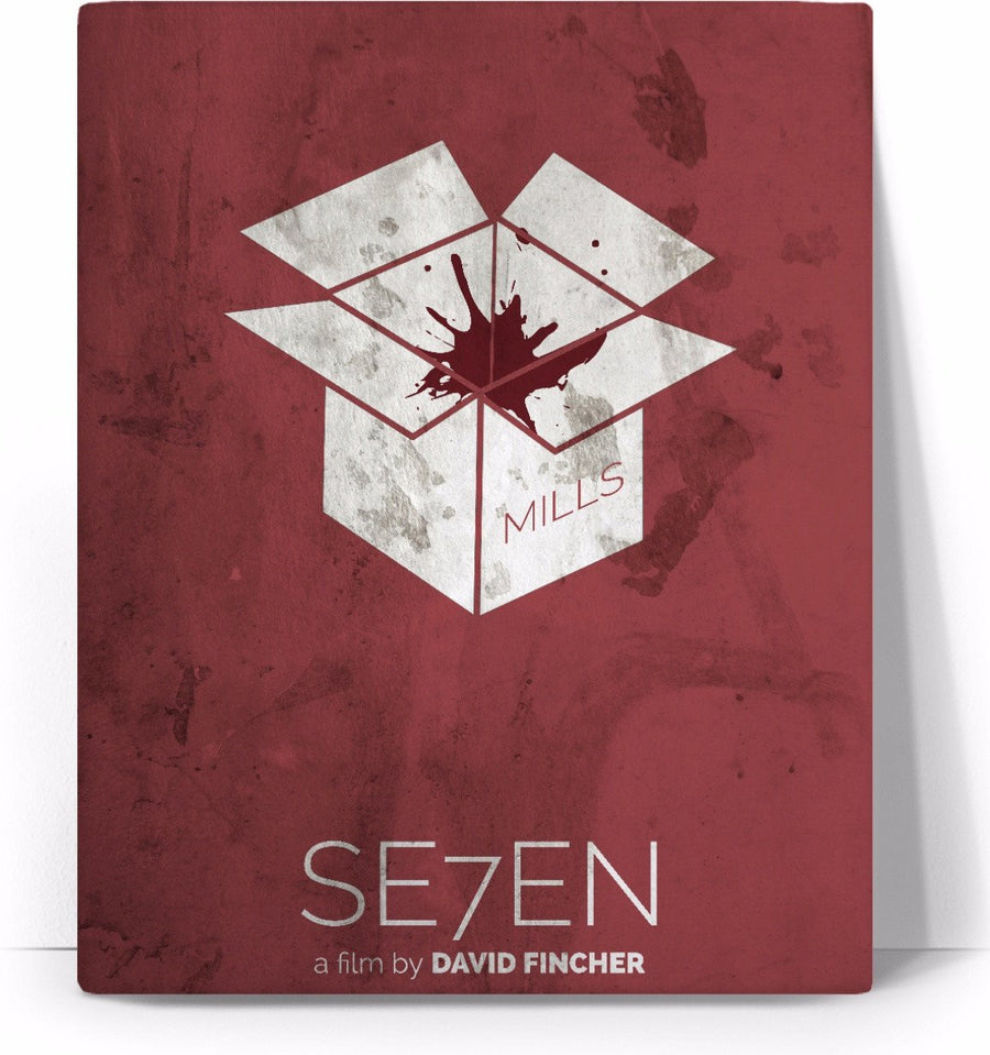 Se7en Movie Poster Canvas