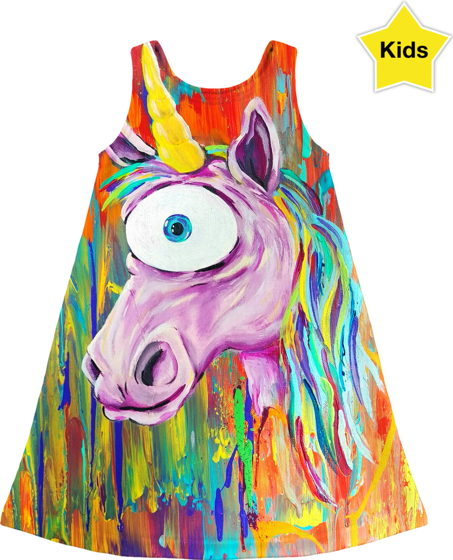 Unicorn Sight Kids Dress