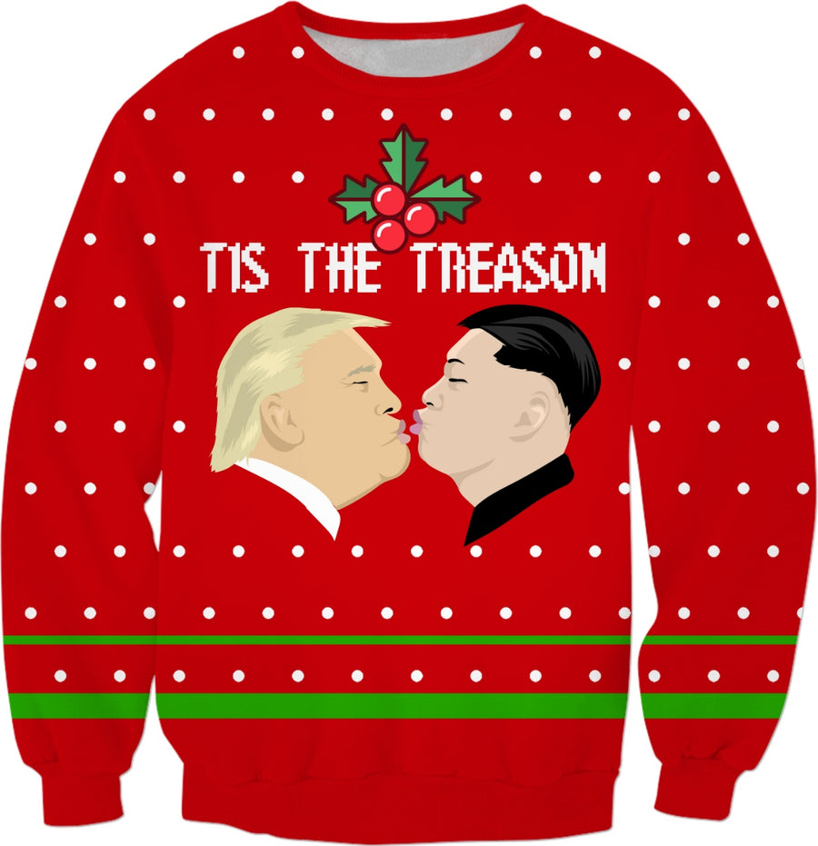 Tis the Treason Ugly Christmas Sweatshirt