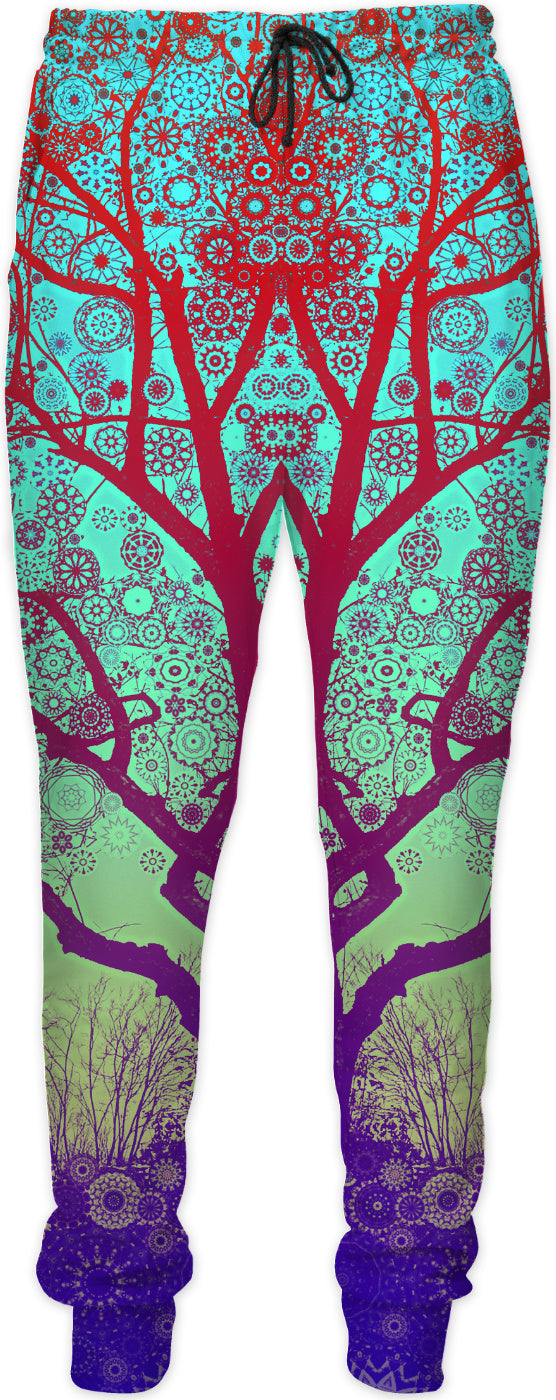 Red Star Trip Tree Sweatpants