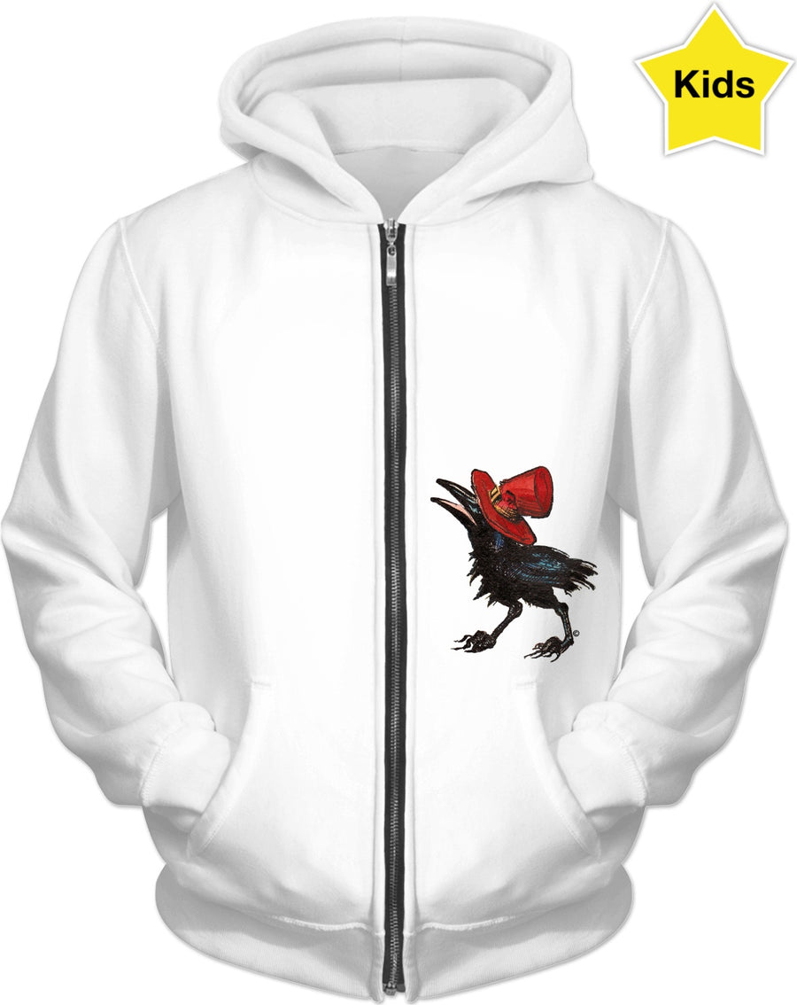 Lil friend of all the world - by LaRenard - Kids Hoodie