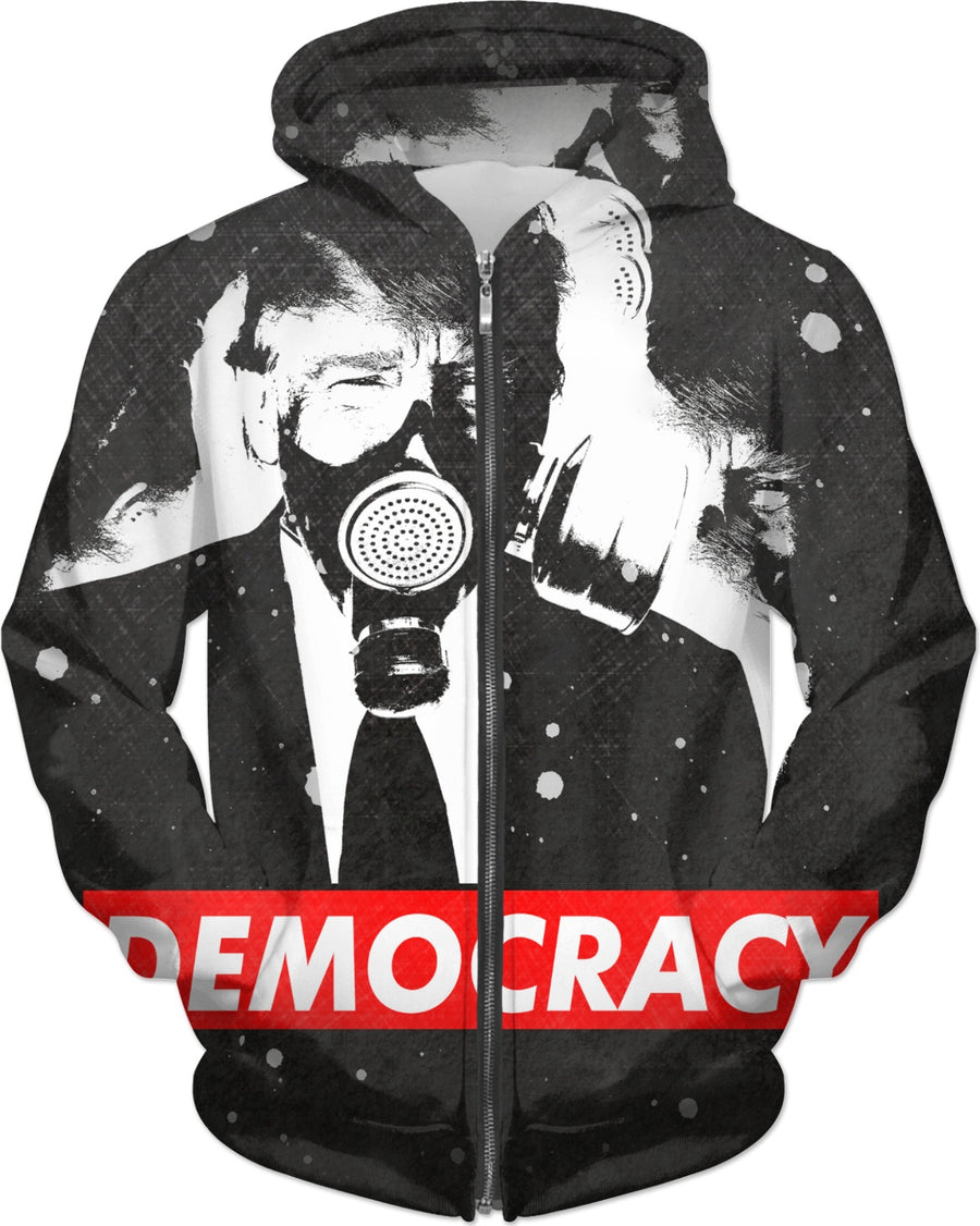 Dirty Soap's Democracy Hoodie