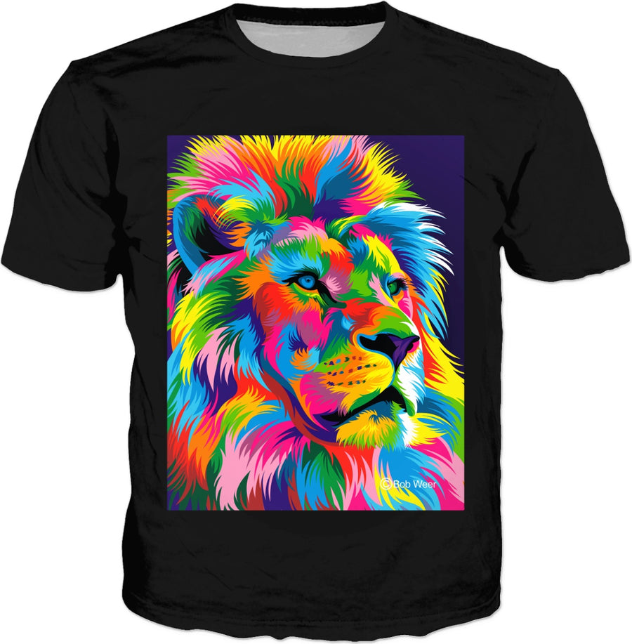 Neon Lion by Bob Weer