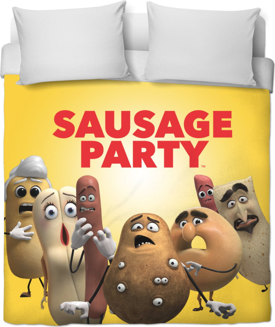 Sausage Party Duvet Cover