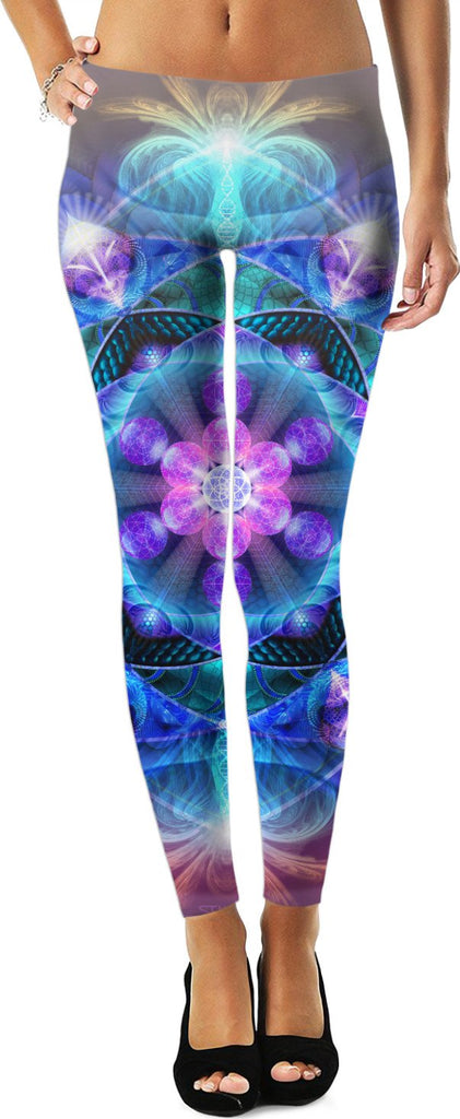 Radiant Energy Flower Leggings