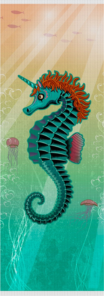 Sea Unicorn Custom Yoga Mat