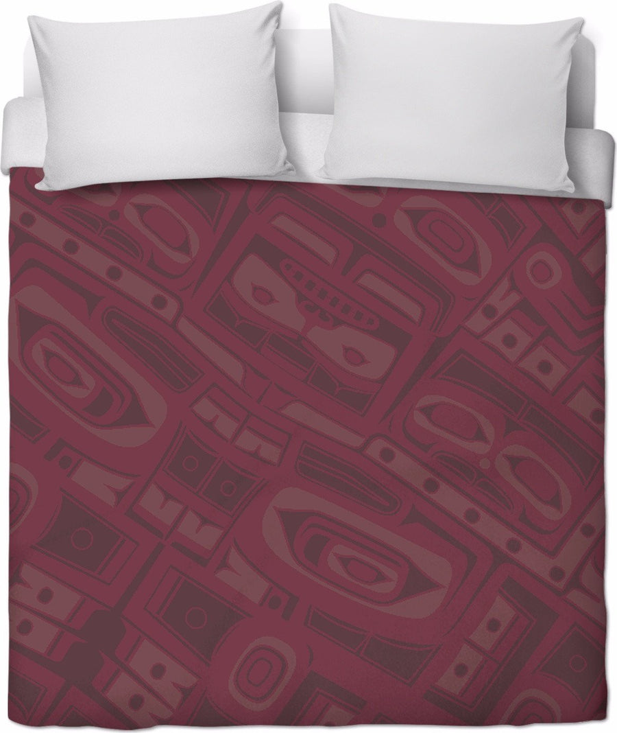 Bordeaux Chilkat Duvet