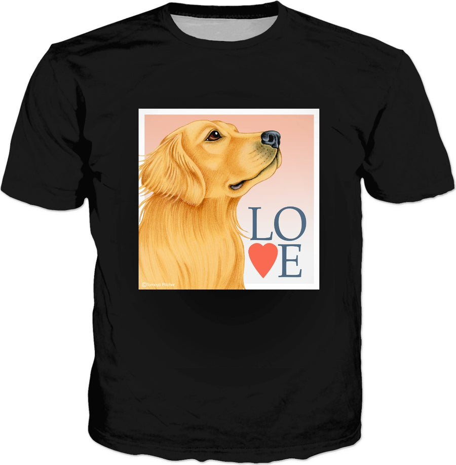 Love My Golden Retriever