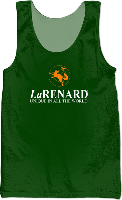 Flower of life logo & legend  - LaRenard Sportswear - Green & Orange